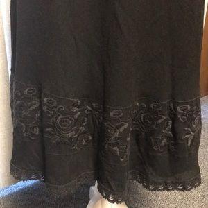NWT Jones New York Signature Petite Black Skirt